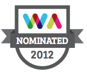 Nominated for the 2012 Realex Web Awards