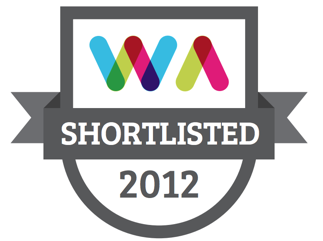 Web Awards 2012 - We've made the final cut!