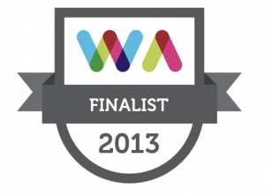 2013 Web Awards Finalist