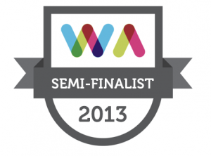 2013 Semi Finalist Web Awards