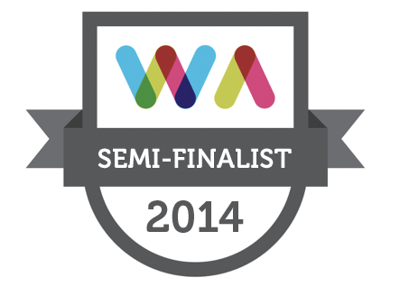 Semi Finalist in the 2014 Web Awards